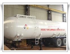 LPG Tank installation, LPG Semitrailer, Auto Underground